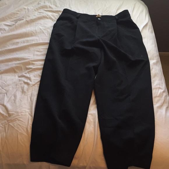 e413318ca6775 Liz Claiborne black dress slacks 100% wool size 16